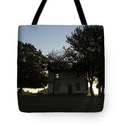 Old Burnt House Tote Bag