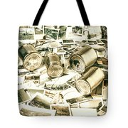 Old Business Wires Tote Bag