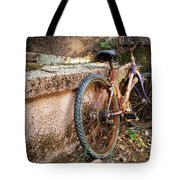 Old Bycicle Tote Bag