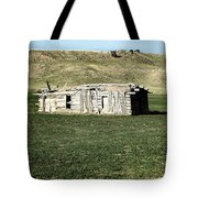 Old Cabin On The Plains Tote Bag