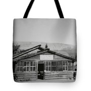 Old Cafe Tote Bag