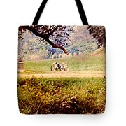 Old Cannon At Gettysburg Tote Bag