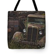 Old Car And Truck Tote Bag