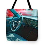 Old Car Interior Tote Bag