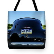 Old Car Trunk With Artistic Background Tote Bag