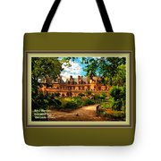 Old Castle - France H A With Decorative Ornate Printed  Frame  Tote Bag