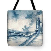 Old Castle Ruins Tote Bag