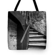 Old Castle Stairway Tote Bag