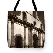 Old Catholic Mission Ghost Town Tote Bag
