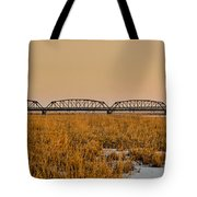 Old Cedar Road Bridge Tote Bag