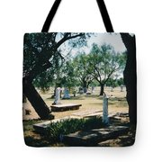 Old Cementery Tote Bag