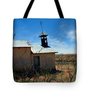 Old Chapel On Route 66 In Newkirk Nm Tote Bag