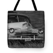 Old Chevy By The Levee Tote Bag