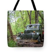 Old Chevy Oil Truck 1  Tote Bag