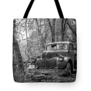 Old Chevy Oil Truck 2 Tote Bag