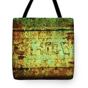 Old Chevy Tailgate Tote Bag