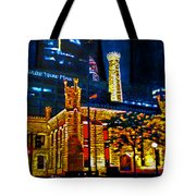 Old Chicago Pumping Station Tote Bag by Michael Durst