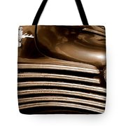 Old Chrysler Grille Tote Bag