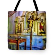 Old Church Altar Tote Bag