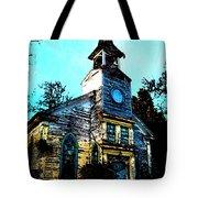 Old Church At Oxford Maryland Tote Bag