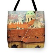 Old Church In Prague Tote Bag