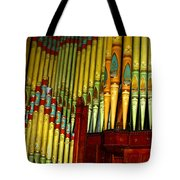 Old Church Organ Tote Bag