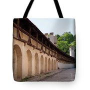 Old City Wall In St Alban Basel Switzerland Tote Bag