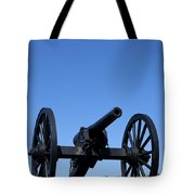 Old Civil War Cannon Tote Bag
