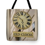 Old Clocks Tote Bag