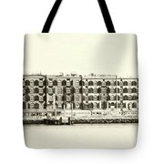 Old Coffee And Cotton Warehouse Tote Bag