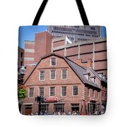 19- Old Corner Book Store Eckfoto Boston Freedom Trail Tote Bag