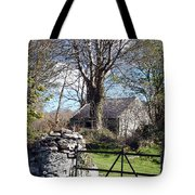 Old Cottage  Tote Bag