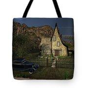 Old Cottage Tote Bag