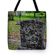 Old Country Cemetery Tote Bag