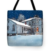 Old Country Home Tote Bag
