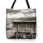 Old Country Wagon Tote Bag