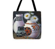 Old Court Shasta Daisy Tote Bag