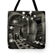 Old Courthouse Entryway Tote Bag