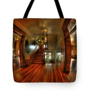 Old Courthouse Hallway Tote Bag