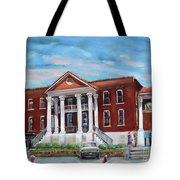 Old Courthouse In Ellijay Ga - Gilmer County Courthouse Tote Bag