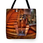 Old Courthouse Stairway Tote Bag