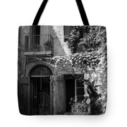 Old Courtyard Tote Bag