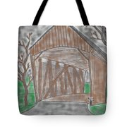 Old Covered Bridge Tote Bag