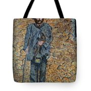 Old-crafts-the-lamplighter-italy-1800 Tote Bag