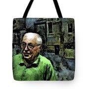 Old Craftsman Portrait Tote Bag