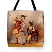 Old Crow Whiskey Tote Bag