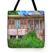 Old Curepe House Tote Bag