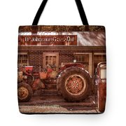 Old Days Vintage Tote Bag