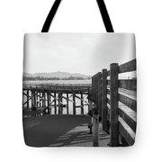 Old Dock Tote Bag