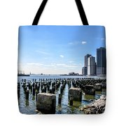 Old Docks Tote Bag